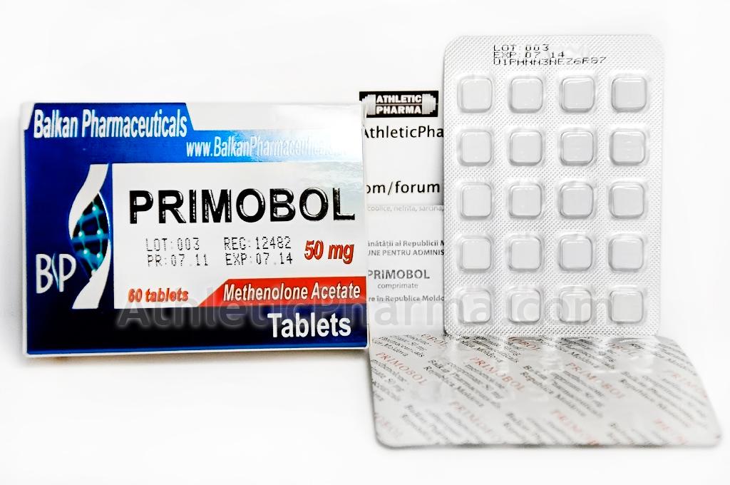 Курс примоболана в таблетках стероиды через сперму